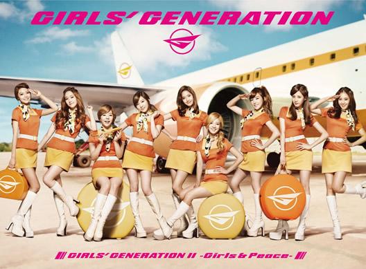 GIRLS' GENERATION~Girls&Peace~Japan 2nd Tour