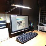 【ちょっとレビュー】山田照明のデスク用LEDライト Z-LIGHT Z-10W ホワイトを購入。