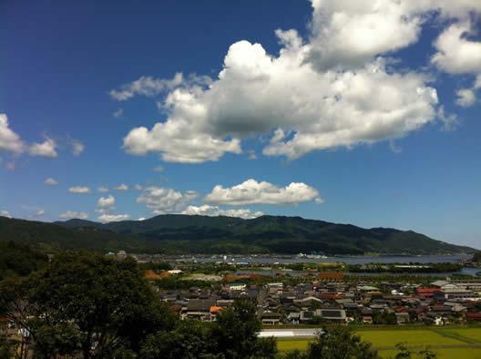 須津の風景