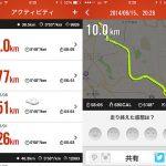 その後のアキレス腱断裂治療日記~「Nike+ Running」で10kmランを達成しました。