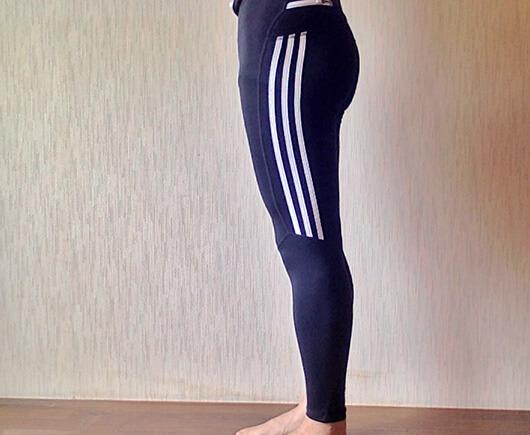 """夏場もOKの、3/4タイプのランニングタイツを購入。デザインと履き心地の良さは""""やっぱりadidas!"""""""