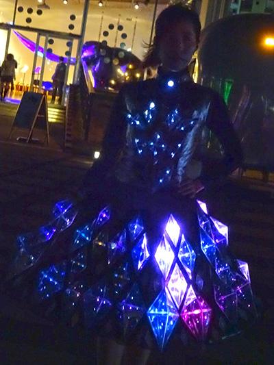 『横浜スマートイルミネーション2015』へ行ってきました。