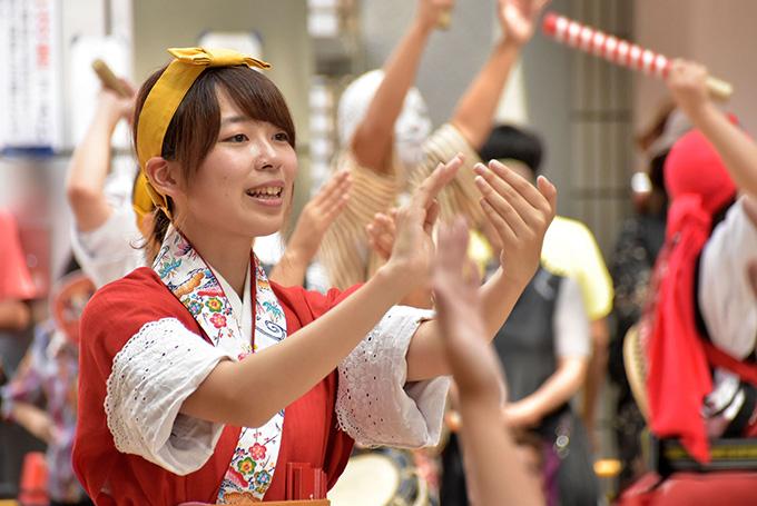 桜風エイサー琉球風車