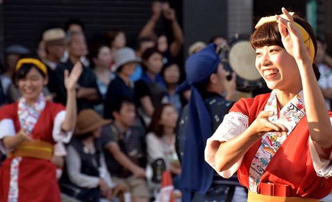 「フェスタまちだ2017~町田エイサー祭り~」に行ってきました。