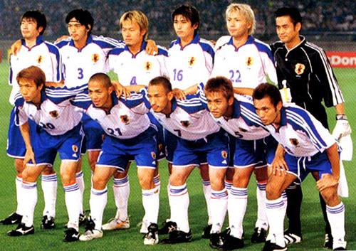 コンフェデレーションズカップ2001日本代表