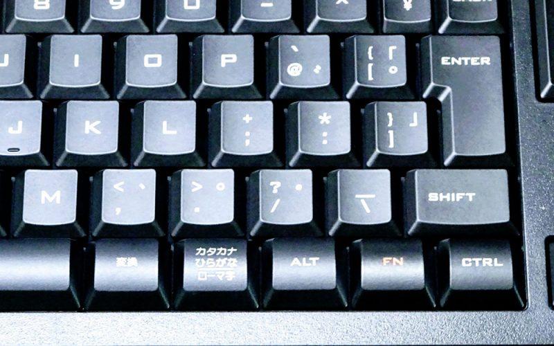 Appleのキーボードに似た軽やかなタッチのWindows用有線キーボードを紹介します。